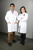 Jan. 25, 2018. Vista. CA. USA |Dr. Hahn Bui, right and Dr. Ash Kabra. |Photos by Jamie Scott Lytle. Copyright.