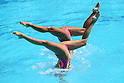 Yukiko Inui &amp; Risako Mitsui (JPN), <br /> AUGUST 14, 2016 - Synchronized Swimming : <br /> Duets Free Routine Preliminary <br /> at Maria Lenk Aquatic Centre <br /> during the Rio 2016 Olympic Games in Rio de Janeiro, Brazil. <br /> (Photo by Yohei Osada/AFLO SPORT)