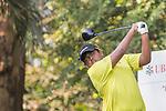 Mithun Perera of Sri Lanka tees off hole number 3 during the 58th UBS Hong Kong Open as part of the European Tour on 08 December 2016, at the Hong Kong Golf Club, Fanling, Hong Kong, China. Photo by Vivek Prakash / Power Sport Images