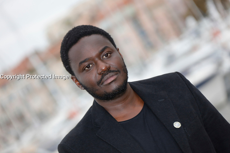 Mipcom Cannes le 17 Octobre 2016 Babou Ceesay Photocall Guerrilla