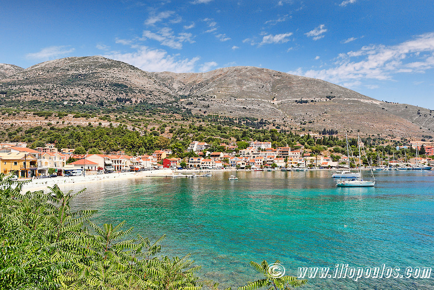 The port of Agia Efimia in Kefalonia island, Greece