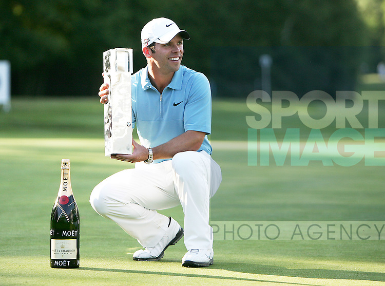 Paul Casey of England wins the BMW PGA Championship