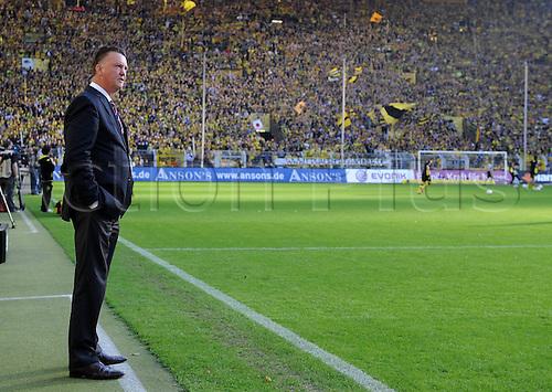 03 10 2010  Bundesliga Season 2009 2010 0 03 10 2010 Borussia Dortmund versus FC  BayernMunich team manager Louis van Gaal FC  BayernMunich