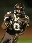 Torrance, CA 10/02/15 - EJ Hatter (West #10) in action during the Carson-West Torrance CIF varsity football game at West Torrance High School.  Carson defeated West Torrance 34-27.