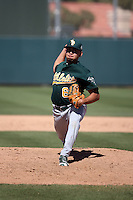Armando Ruiz - Oakland Athletics 2016 spring training (Bill Mitchell)