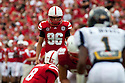 03 Sep 2011: Brett Maher #96 of the Nebraska Cornhuskers kicks the field goal after a touchdown in the quarter against the Chattanooga Mocs at Memorial Stadium in Lincoln, Nebraska. Nebraska defeated Chattanooga 40 to 7.