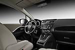Passenger side view of a 2012 Mazda Mazda5 .