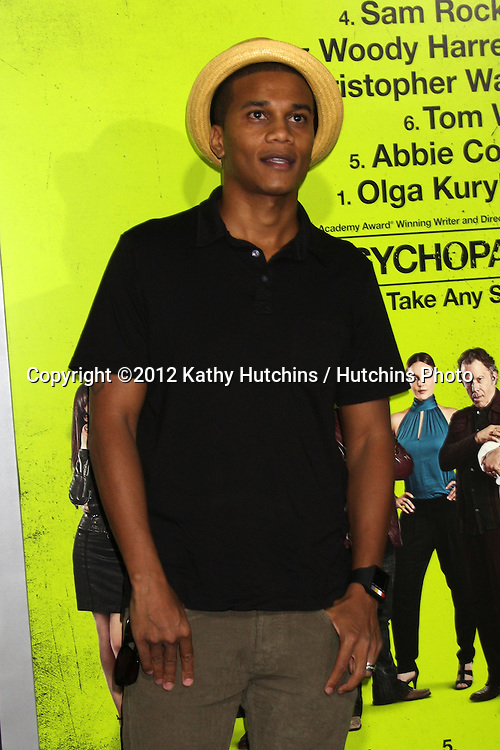 "LOS ANGELES - OCT 30:  Cory Hardrict  at the ""Seven Psychopaths"" Premiere at Bruin Theater on October 30, 2012 in Westwood, CA"