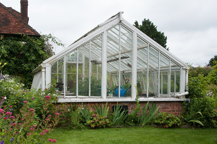 The 1898 model Bolton and Paul greenhouse, Upton Grey, Hampshire.