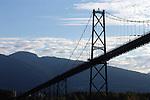 Lions Gate bridge,Vancouver, Canada