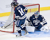 Broc Little (Yale - 14), Billy Blase (Yale - 30) - The Boston College Eagles defeated the Yale University Bulldogs 9-7 in the Northeast Regional final on Sunday, March 28, 2010, at the DCU Center in Worcester, Massachusetts.