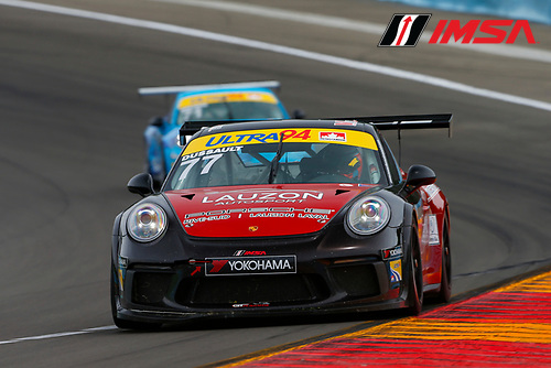 Porsche GT3 Cup Challenge USA / CAN<br /> Sahlen's Six Hours of the Glen<br /> Watkins Glen International, Watkins Glen, NY USA<br /> Thursday 29 June 2017<br /> 77, Patrick Dussault, GT3CP, CAN, 2017 Porsche 991<br /> World Copyright: Jake Galstad/LAT Images