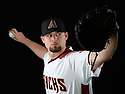 Arizona Diamondbacks Cody Hall (35) during photo day on February 28, 2016 in Scottsdale, AZ.
