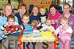 Playground: Hoping to get a playground to Athea are the newly formed Athea Playground Committee pictured with Athea parents and children - Committee members back l-r Julie Gleeson, Natalie Thornton and Caroline Philips, with Aaron Philips and moms Louise and Mary O'Connor. Front l-r Conor Horgan, Callum Gleeson, Katie O'Connor, Kaliyah Philips and Rachel O'Connor.   Copyright Kerry's Eye 2008