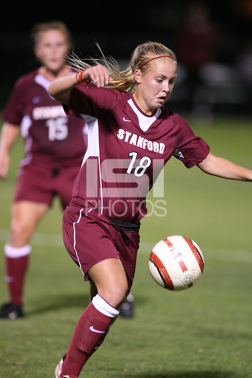 28 October 2005: Shari Summers during Stanford's 1-0 loss to USC at Maloney Field in Stanford, CA.
