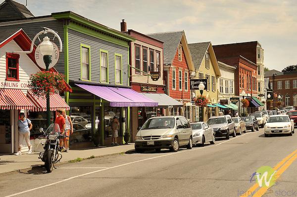 Mainstreet, Camden, ME.