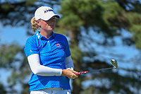 Stacy Lewis (USA) watches her tee shot on 3 during round 1 of the 2018 KPMG Women's PGA Championship, Kemper Lakes Golf Club, at Kildeer, Illinois, USA. 6/28/2018.<br /> Picture: Golffile | Ken Murray<br /> <br /> All photo usage must carry mandatory copyright credit (&copy; Golffile | Ken Murray)
