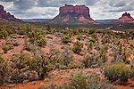 Courthouse Butte in the Munds Mountain Wilderness, Coconino National Forest, AZ, USA