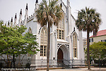 French Huguenot Church (44 Queen St),  in downtown Charleston, SC, a National Historic Landmark district.