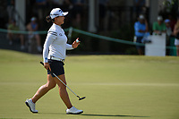 Sei Young Kim (KOR) after sinking her par putt on 9 during round 3 of the 2019 US Women's Open, Charleston Country Club, Charleston, South Carolina,  USA. 6/1/2019.<br /> Picture: Golffile | Ken Murray<br /> <br /> All photo usage must carry mandatory copyright credit (© Golffile | Ken Murray)