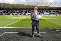 Match ball sponsor during the Barclays Premier League match between Swansea City and Chelsea at the Liberty Stadium, Swansea on April 9th 2016