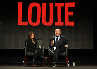 ***FILE PHOTO**  Louis C.K. Film Premiere Cancelled Amid Sexual Misconduct Allegations<br /> <br /> 2015 FX WINTER TCA: (L-R) Producer/Co-Star Pamela Adlon and Creator/EP/Writer/Director/Editor/Star Louis C.K. during the LOUIE panel at the 2015 FX WINTER TCA on Sunday, Jan. 18 at the Langham Hotel in Pasadena CA.   <br /> CAP/MPI/PGFM<br /> &copy;PGFM/MPI/Capital Pictures