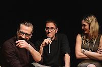 Marco Giallini, Valerio Mastandrea, Carolina Crescentini .Firenze 06/04/2013 Teatro del Sale.Rai Screenings 2013 Convegno Rai Cinema.Foto Andrea Staccioli Insidefoto