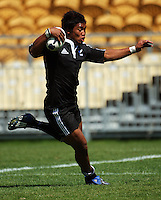Julian Savea in action during the International rugby match between New Zealand Secondary Schools and Suncorp Australia Secondary Schools at Yarrows Stadium, New Plymouth, New Zealand on Friday, 10 October 2008. Photo: Dave Lintott / lintottphoto.co.nz