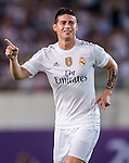 James Rodriguez of Real Madrid CF celebrates after scoring during the FC Internazionale Milano vs Real Madrid  as part of the International Champions Cup 2015 at the Tianhe Sports Centre on 27 July 2015 in Guangzhou, China. Photo by Aitor Alcalde / Power Sport Images