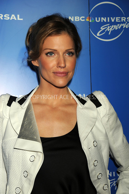 WWW.ACEPIXS.COM . . . . .....May 12, 2008. New York City.....Actress Tricia Helfer attends the NBC Universal Experience at Rockefeller Center.  ....Please byline: Kristin Callahan - ACEPIXS.COM..... *** ***..Ace Pictures, Inc:  ..Philip Vaughan (646) 769 0430..e-mail: info@acepixs.com..web: http://www.acepixs.com