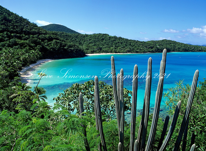 Gibney and Hawksnest Beach<br /> Virgin Islands National Park<br /> St. John<br /> U.S. Virgin Islands