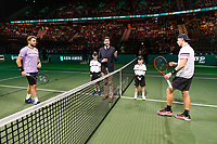 Rotterdam, The Netherlands, 14 Februari 2019, ABNAMRO World Tennis Tournament, Ahoy, Stan Wawrinka (SUI) vs Denis Shapovalov (CAN), <br /> Photo: www.tennisimages.com/Henk Koster