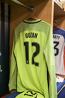 Harrison, N.J. - Friday September 01, 2017: Brad Guzan during a 2017 FIFA World Cup Qualifying (WCQ) round match between the men's national teams of the United States (USA) and Costa Rica (CRC) at Red Bull Arena.