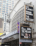 'The Present' - Theatre Marquee