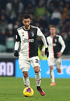 Calcio, Coppa Italia round 8 : Juventus - AS Roma, Turin, Allianz Stadium, January 22, 2020.<br /> Juventus' Rodrigo Bentancur in action during the Italian Cup football match between Juventus and Roma at the Allianz stadium in Turin, January 22, 2020.<br /> UPDATE IMAGES PRESS/Isabella Bonotto