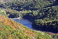 Sugar Hollow reservior in Albemarle County, Va.