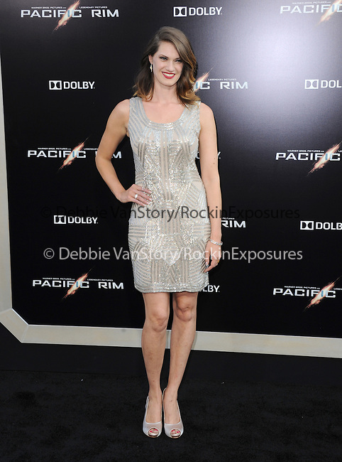 Heather Doerksen at The Warner Bros. Pictures L.A. Premiere of Pacific Premiere held at The Dolby Theater in Hollywood, California on July 09,2013                                                                   Copyright 2013 Hollywood Press Agency