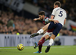 Burnley's Robbie Brady is challenged by Tottenham's Jan Vertonghen during the Premier League match at the Tottenham Hotspur Stadium, London. Picture date: 7th December 2019. Picture credit should read: Paul Terry/Sportimage