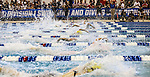 19 MAR 2016: Swimmers compete in the 100 Yard Freestyle final during the Division I Women's Swimming & Diving Championship held at the Georgia Tech Aquatic Center in Atlanta, GA. David Welker/NCAA Photos