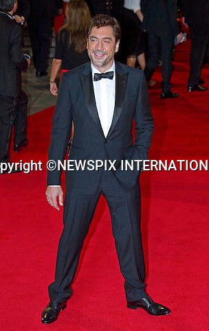 "JAVIER BARDEM.attends the World Premiere of the twenty-third 007 adventure, ""Skyfall"", Royal Albert Hall, London_23/10/2012.Mandatory Credit Photo: ©Butler/NEWSPIX INTERNATIONAL..**ALL FEES PAYABLE TO: ""NEWSPIX INTERNATIONAL""**..IMMEDIATE CONFIRMATION OF USAGE REQUIRED:.Newspix International, 31 Chinnery Hill, Bishop's Stortford, ENGLAND CM23 3PS.Tel:+441279 324672  ; Fax: +441279656877.Mobile:  07775681153.e-mail: info@newspixinternational.co.uk"