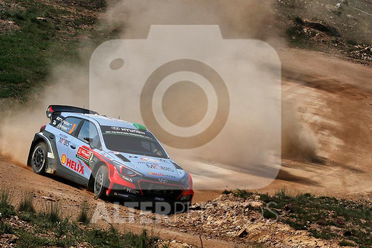 Hayden Paddon  ( NZ )  -  Kennard  ( NZ )  Hyundai I20 WRC