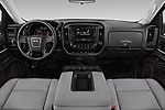 Stock photo of straight dashboard view of a 2019 GMC Sierra 1500 Limited Base 4 Door Pick Up