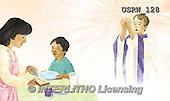 Randy, EASTER RELIGIOUS, OSTERN RELIGIÖS, PASCUA RELIGIOSA, paintings+++++Our-Lords-Prayer-Book-6-7,USRW128,#ER#