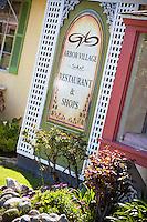 Restaurants and Shopping at Arbor Village in Los Alamitos