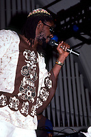 ANN ARBOR - SEPTEMBER 18: Jamaican singer, songwriter and reggae musician, Peter Tosh (1944-1987) performs at the Hill Auditorium, September 18, 1981, in Ann Arbor, Michigan.  <br /> CAP/MPI/RKA/RM<br /> ©RM/RKA/MPI/Capital Pictures