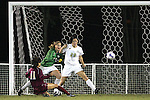 9 November 2007: Florida State's Mami Yamaguchi (11) scores her second goal, past Wake Forest's Caitlin Farrell (20) and goalkeeper Amanda Barasha (13). Florida State University defeated Wake Forest University 5-2  at the Disney Wide World of Sports complex in Orlando, FL in an Atlantic Coast Conference tournament semifinal match.