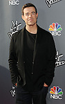 """Carson Daly arriving at NBC's """"The Voice"""" Red Carpet Event at Sayers Club in Los Angeles, CA. April 3, 2014."""
