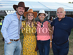 Gary and Gill Glennon, Sarah and Noel Ennis at the NECRET Barn Dance in Cushinstown AC. Photo:Colin Bell/pressphotos.ie