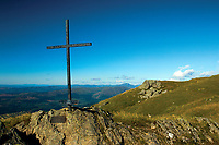 Sergeant Harry Lawrie Memorial Cross, Ben Ledi, Loch Lomond and the Trossachs National Park, Stirlingshire