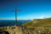 Sergeant Harry Lawrie Memorial Cross, Ben Ledi, Loch Lomond and the Trossachs National Park, Stirlingshire